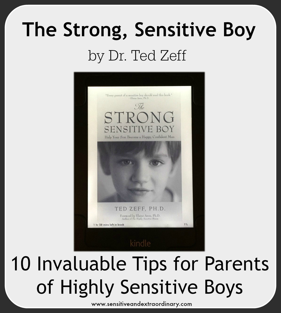 10 Tips For Parents of Highly Sensitive Boys