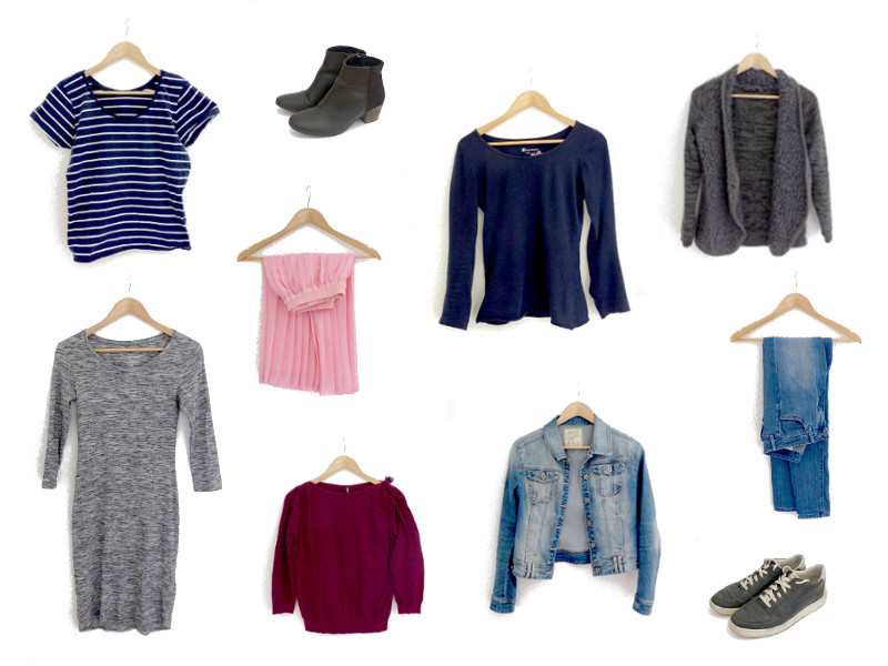 dressing minimaliste 10x10 challenge printemps