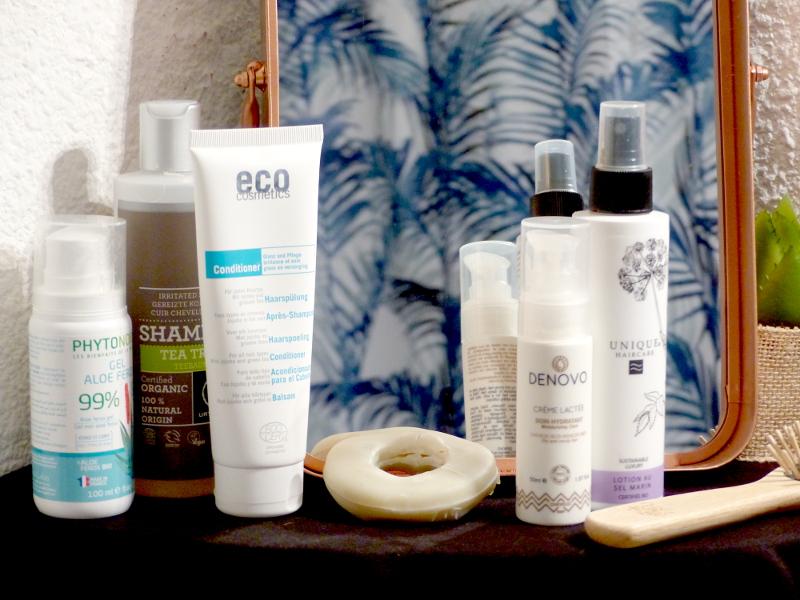 routine cheveux bouclés bio naturelle