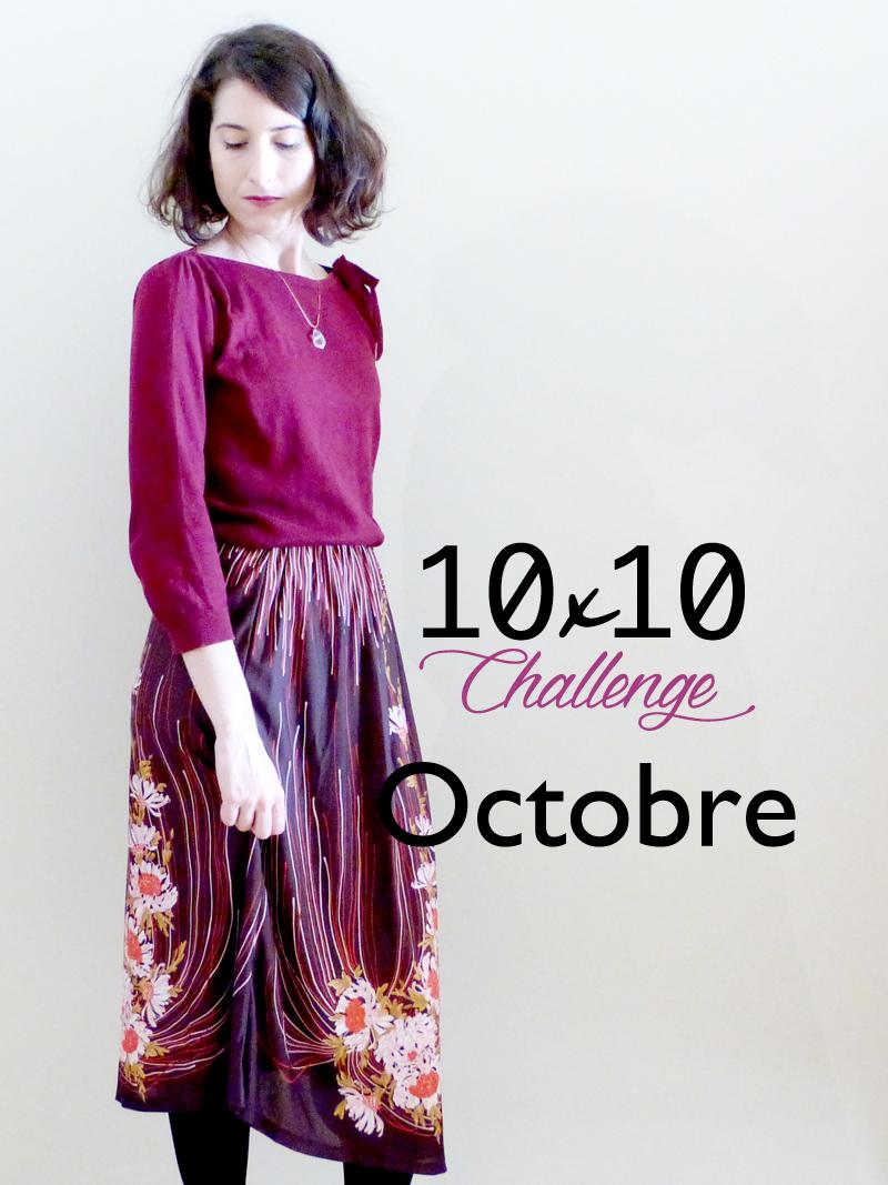 10x10 challenge avec hylla penderie, looks d'automne