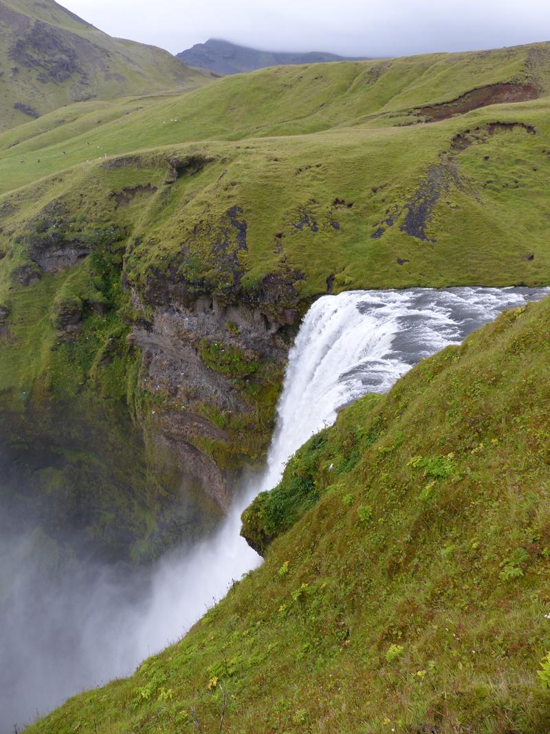 Voyage en Islande, Skogafoss