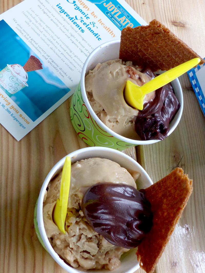 Joylato: de délicieuses glaces vegan à Reykjavik
