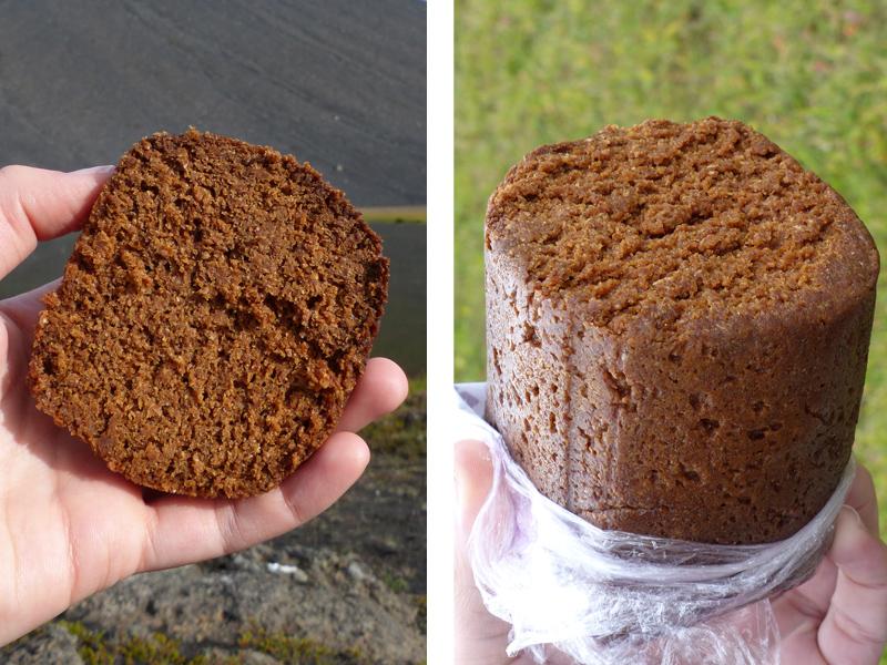 Le pain cuit à la géothermie: une spécialité islandaise vegan !