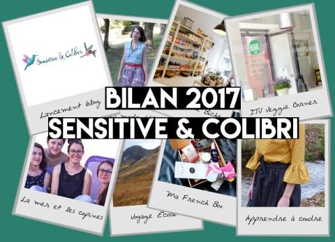 Un an de blog sur Sensitive et Colibri