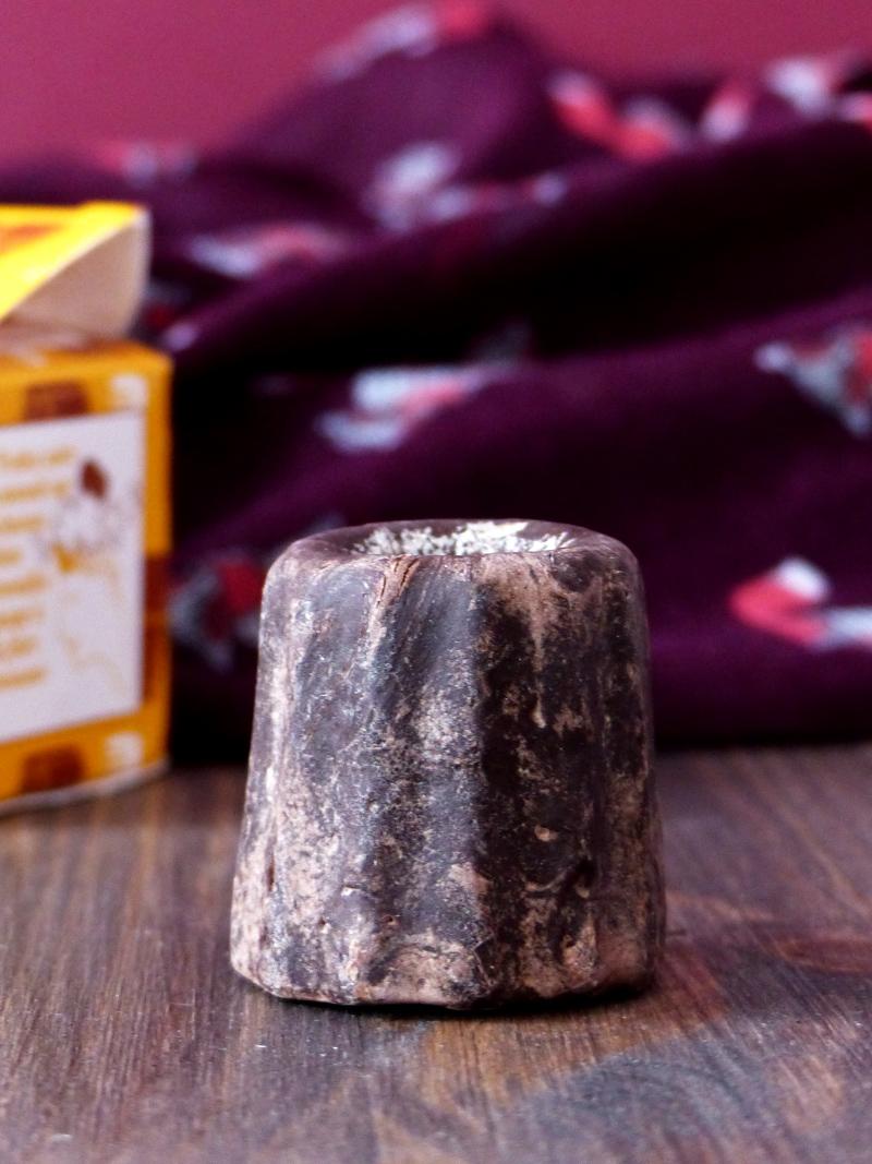 Revue shampoing solide lamazuna cacao