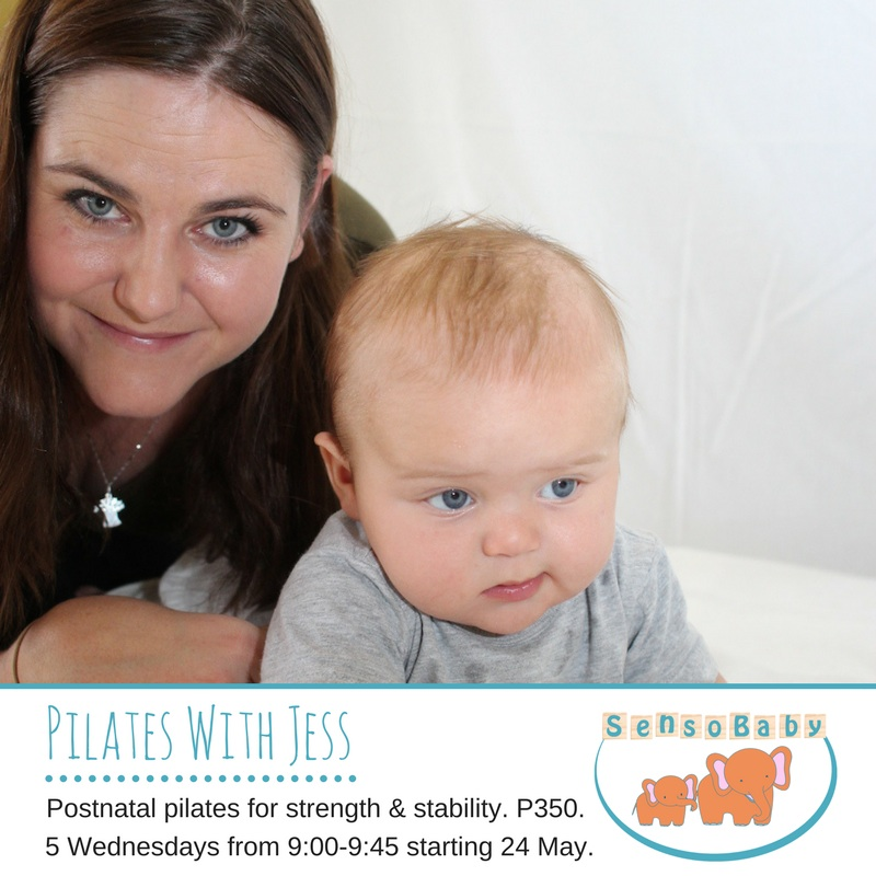 Postnatal Pilates with Jessica Bateman