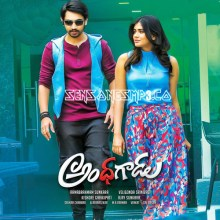 Andhagadu songs 2017 posters images album cd cover