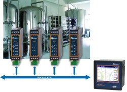 Master control of smaller I/O modules