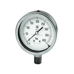 Analogue pressure gauges