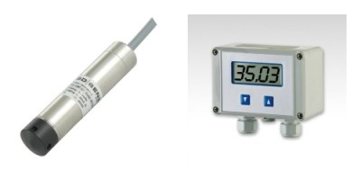 Hydropower reservoir submersible hydrostatic level transmitter & indicator