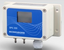 DPS300 User Switchable Pressure Range and Volts or Current Output Low DP Sensor