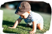 Josh crawling at Googleplex