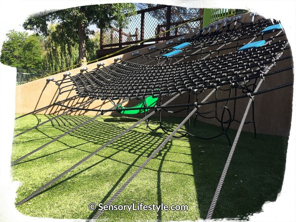 Magical Bridge Playground - Climbing Net