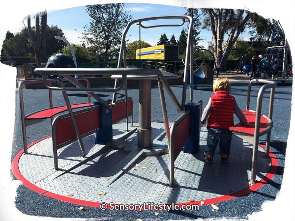 Magical Bridge Playground - Spinner Zone 1