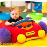Josh in a car