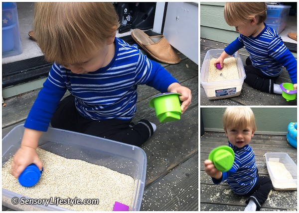 Fill and dump game