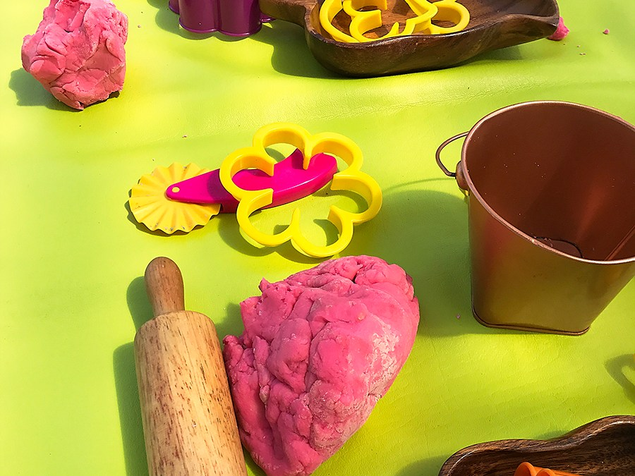 Turbo charge your kids fine motor development through play dough!