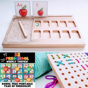 Montessori Preschool Kit