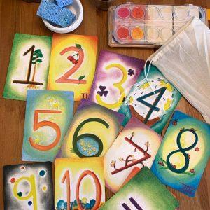 Waldorf Number Cards