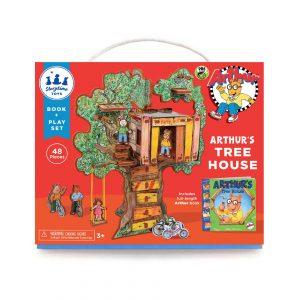 Arthur's Tree House Book and Play Set