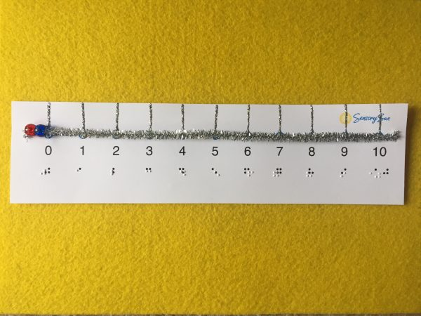 tactile interactive number line