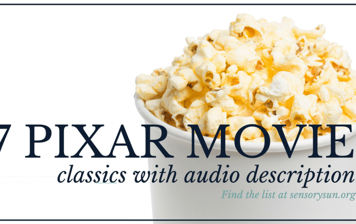 7 pixar movie classics with audio description