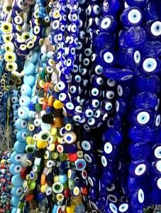 Perles de verres, oeil Nazar Boncuk