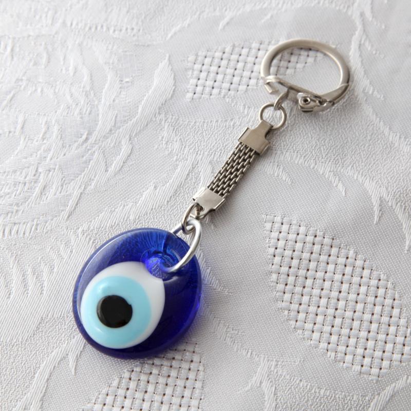 Porte-clés avec œil porte-bonheur Nazar Boncuk