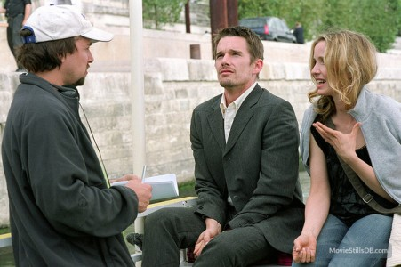 ethan hawke con julie delpy e richard linklater