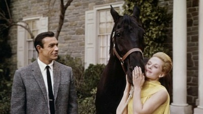 sean connery e tippi hedren in marnie