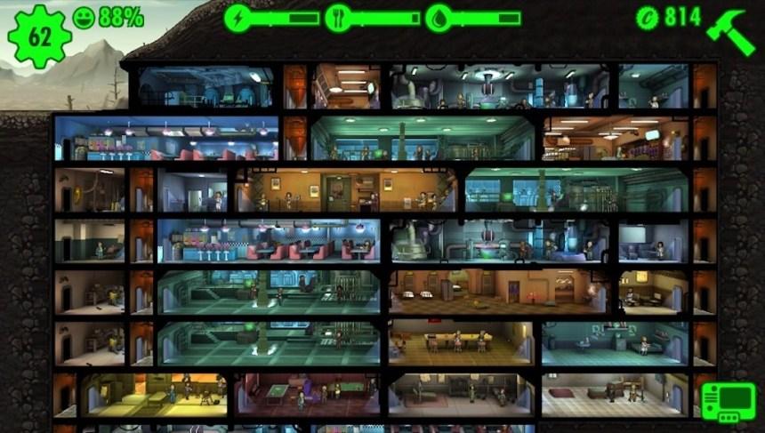 Un vault efficiente richiederà la costruzione di numerosi ambienti...