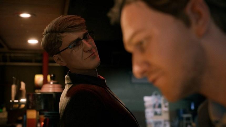 In Twin Mirror i dialoghi con i vari character presenti in-game rivestono grande importanza...