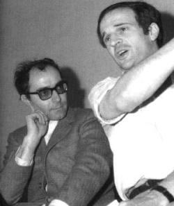 Jean Luc Godard e Francois Truffaut