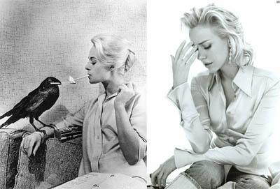 Tippi Hedren VS Naomi Watts - The Birds