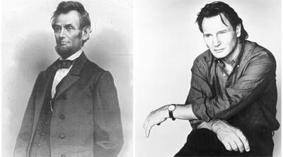 Liam Neeson è Lincoln