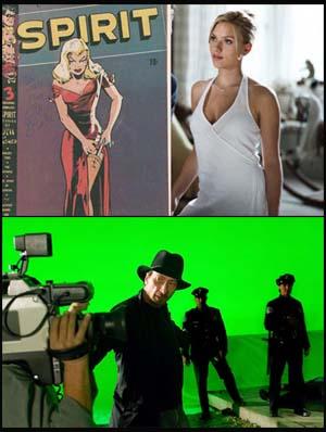 Scarlett in The Spirit di Frank Miller