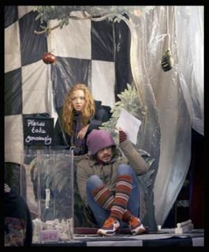 The Imaginarium of Doctor Parnassus - Lily Cole & Heath Ledger