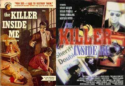 The killer inside me film e romanzp