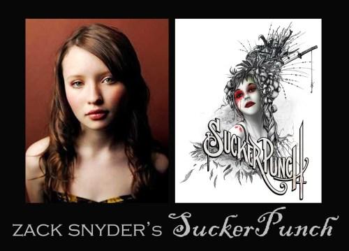 SuckerPunch di Zack Snyder. La protagonista Emily Browning e l'artwork di Alex Pardee