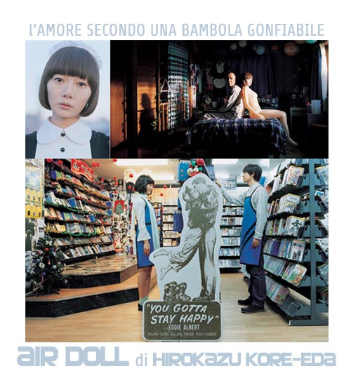 Air Doll, di Hirokazu Kore-eda
