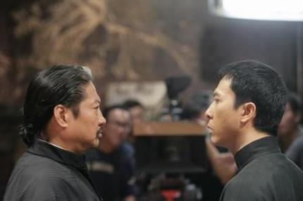 donnie yen e sammo hung in ip man 2 di wilson yip