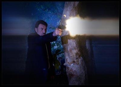 Johnny Halliday in una scena di Vengeance, di Johnnie To (2009)