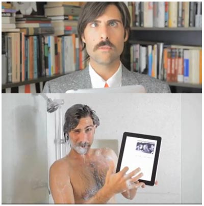 Jason Schwartzman - NewYorker app spot - diretto da Roman Coppola