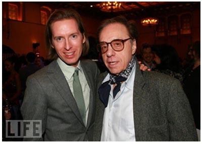 Wes Anderson con Peter Bogdanovich