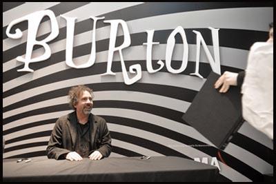 Tim Burton - inaugurazione mostra al TIFF BELL LIGHTBOX