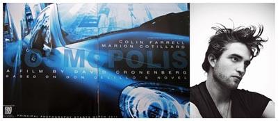 Robert Pattinson rimpiazza Colin Farrell in COSMOPOLIS di David Cronenberg
