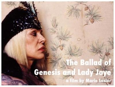 Ballad of Genesis & Lady Jaye - Marie Loisier