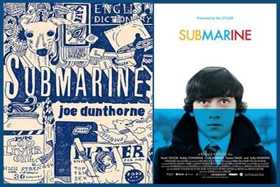 Submarine, dal libro al film
