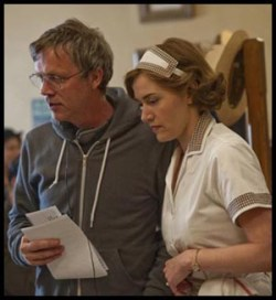 Todd Haynes e Kate Winslet sul set di MILDRED PIERCE