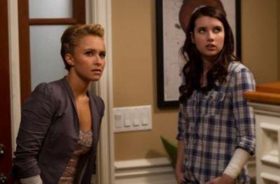 Scream 4 Hayden Panettiere e Emma Roberts